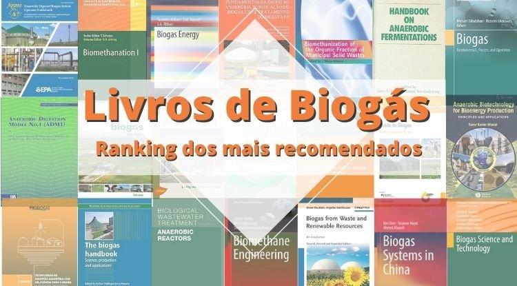 Livros de Biogás mais recomendados