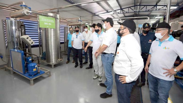 Paraná inaugura usina híbrida: biogás-fotovoltaico