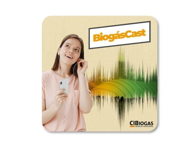 BiogásCast - o Podcast do Biogás produzido pelo CIBiogás