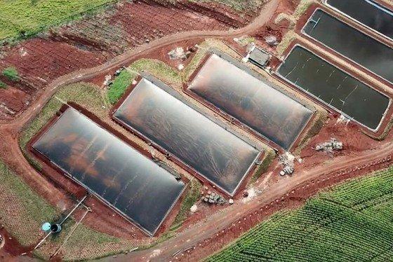 1ª usina de biogás e energia fotovoltaica está operando em Ouro Verde do Oeste - PR