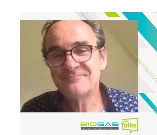WebTalks Jerry Murphy. Especialistas discute biogás, biometano e biohidrogênio.