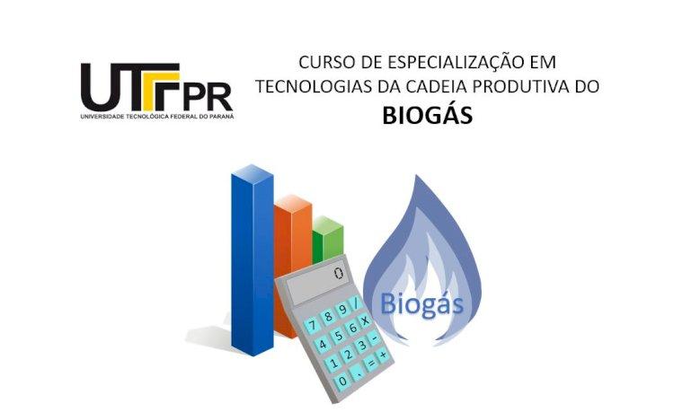 Curso de Especialização em Tecnologias da Cadeia Produtiva do Biogás