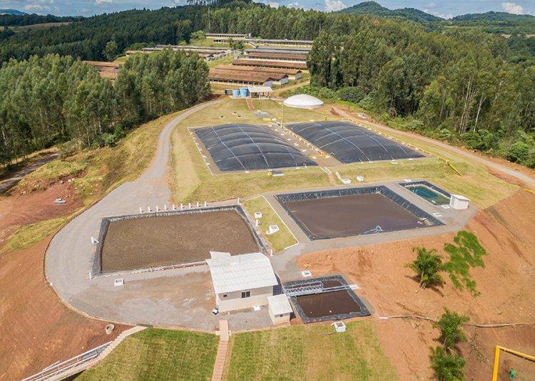Sistrates - Energia elétrica, fertilizante e água de reuso