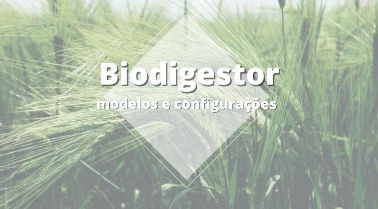 Biodigestor - Modelos e configurações