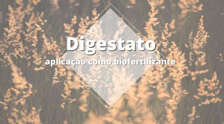 Digestato - Aplicações como biofertilizante