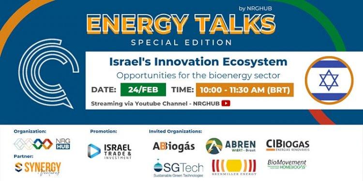 ENERGY TALKS | Israel's Innovation Ecosystem