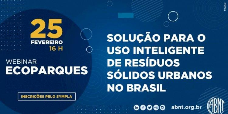 Webinar Ecoparques - Solução para o uso inteligente de resíduos sólidos urbanos no Brasil