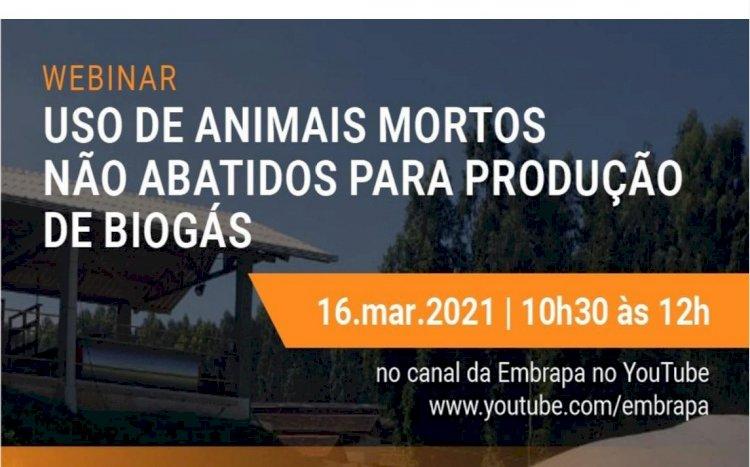 Webimar Uso de animais mortos não abatidos para produção de biogás