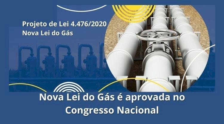Nova Lei do Gás é aprovada no Congresso Nacional