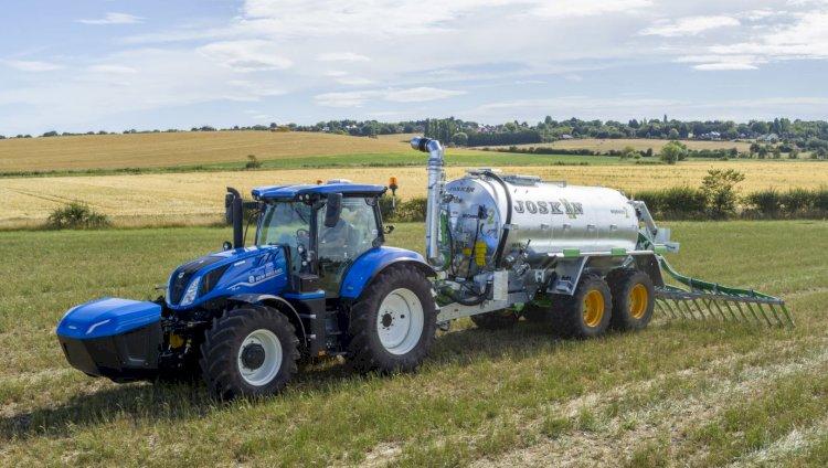 Trator New Holland movido a biometano chega ao mercado mundial em 2021