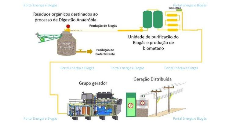 Biometano, a energia que vem do campo.