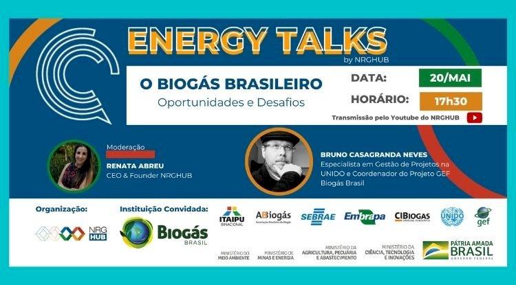 ENERGY TALKS - O Biogás Brasileiro: Oportunidades e Desafios