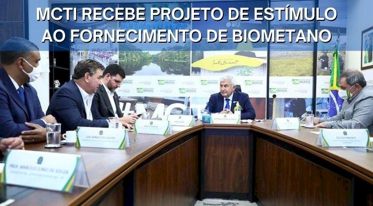 MCTI recebe projeto de estímulo ao fornecimento de biometano