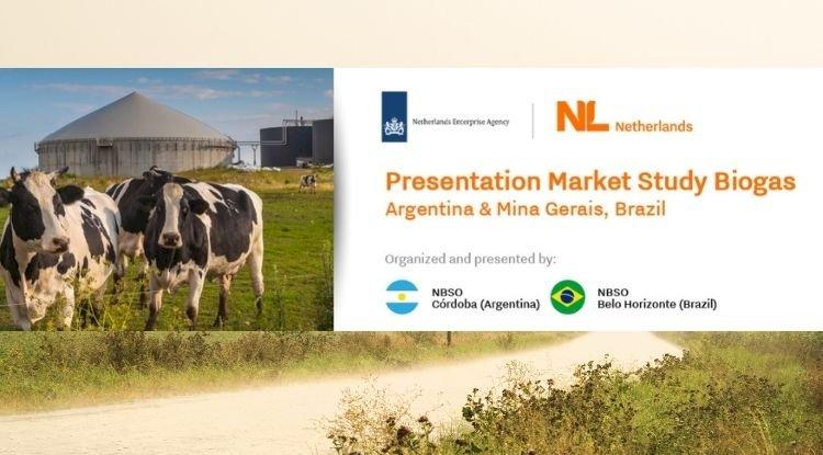 Apresentação de estudos de mercado de biogás Argentina e Brasil