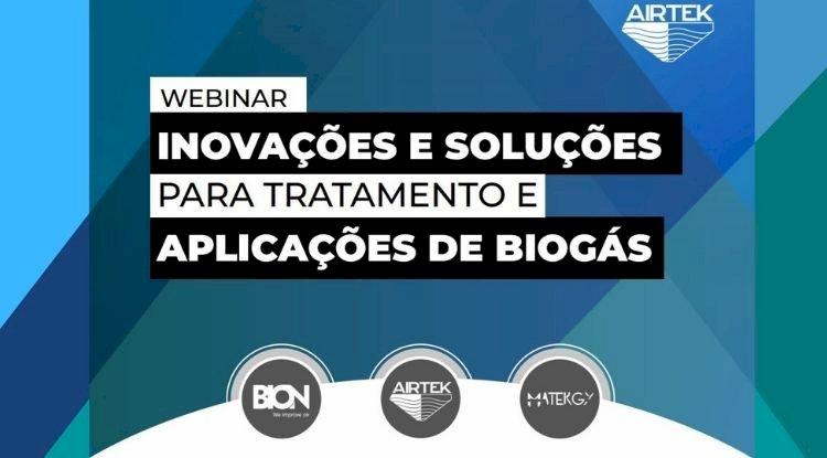 Webinar - Inovações e soluções para tratamento e aplicações de Biogás