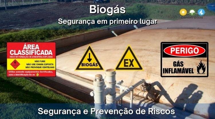 Produção de Biogás com Segurança e Prevenção de Riscos