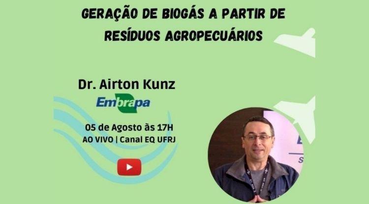 Webinar Geração de biogás a partir de resíduos agropecuários