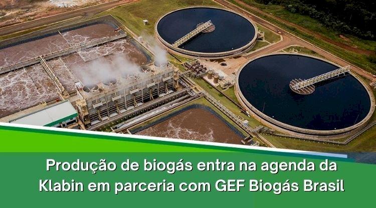 Produção de biogás entra na agenda da Klabin em parceria com GEF Biogás Brasil