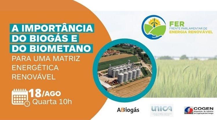 Seminário - A importância do Biogás e do Biometano para uma matriz energética renovável