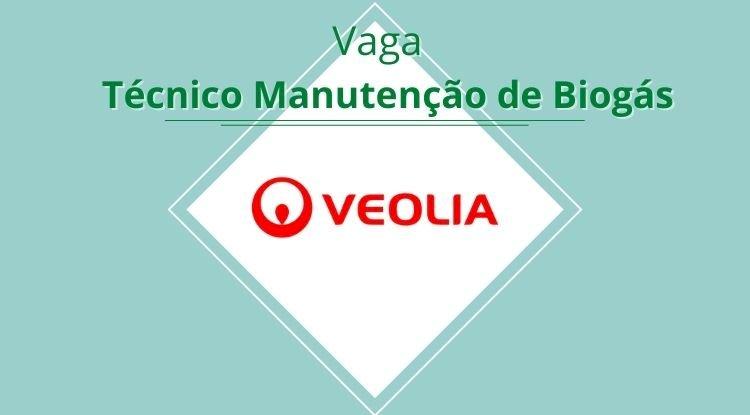 Vaga Técnico de Manutenção de Biogás