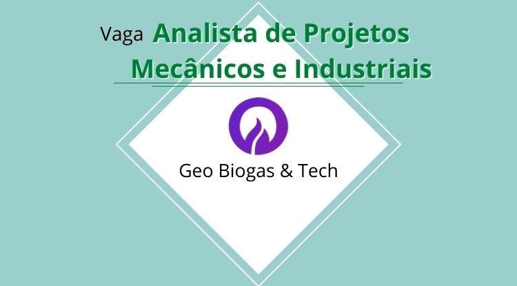 Vaga Analista de Projetos Mecânicos e Industriais