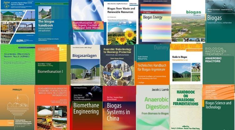 Livros sobre Digestão Anaeróbia e Biogás